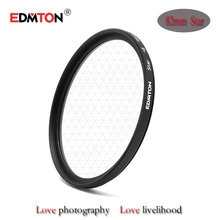 Original Professional EDMTON 82mm Cross 6 Point 6PT Star Filter Star-effect Starburst for Canon EOS Nikon Sony Camera Lens 82 mm