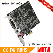 Full HD 1920 x 1200 60fps Versatile DVI/VGA/HDMI PCI Express Card support SDK (CD530)(China)