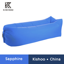 Camping lazy bag inflatable air sofa laybag sleeping bag adult beds air lounge chair Fast Inflatable nylon air sofa bed