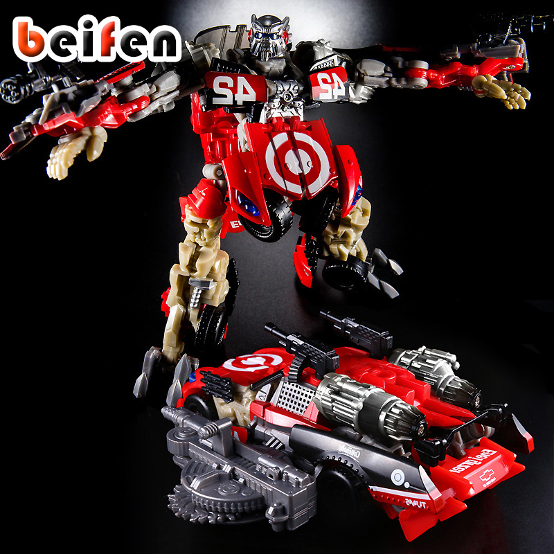 Bei Fen Transformation G1 THF-02 Leadfoot Deluxe Marvel Action Figure PVC Movie 3 TV Model Educational Doll Toys for Children <br>