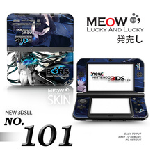 Wholesale Full body Protective Decal Skin Sticker for Nintendo New 3DS XL LL Cover Shell Drop Shipping