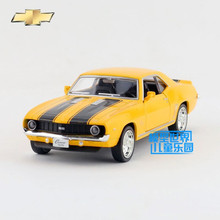 Free Shipping/1:36 Scale/1969 Chevrolet Camaro SS/Classical Vintage Educational Model/Pull back Diecast Metal toy car/For gift