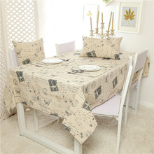 2016 New Europe Angel Girl Print Linen table Cloth  High Quality Tablecloth Table Cover manteles para mesa Free Shipping