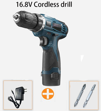 16.8V Rechargeable Lithium Battery Electric Screwdriver precision Charging Drill bit Cordless drill Torque drill Power Tools