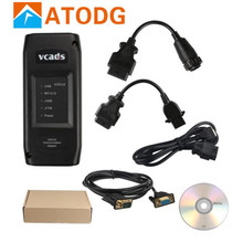 VCADS Pro 2.40 for Volvo Truck Diagnostic Tool for VOLVO VCADS With Multi languages VCADS Pro 2.40 Heavy Duty Truck Scanner(China)