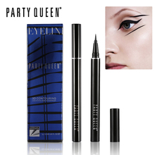 Party Queen 0.03mm Slim Tip Liquid Eyeliner Pen Smudge-proof Black Eyeliner Pencil Smooth Makeup Long Lasting Smokey Eyeliner