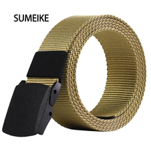 2016 Male Belt High Quality Designer Brand Automatic Buckle Belt For Men Casual Style Tactical Belt For Jeans 110cm Wholesale