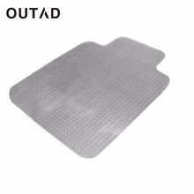 OUTAD PVC Home Chair Blanket Mat Studded Back With Lip For Standard Pile Carpet Protecting Chair Pad Office Chair Mat(China)