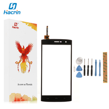 Hacrin For HOMTOM HT7 Touch Screen tested good 100% New Digitizer Glass Panel Replacement For HOMTOM HT7 Phone 5.5 Inch(China)