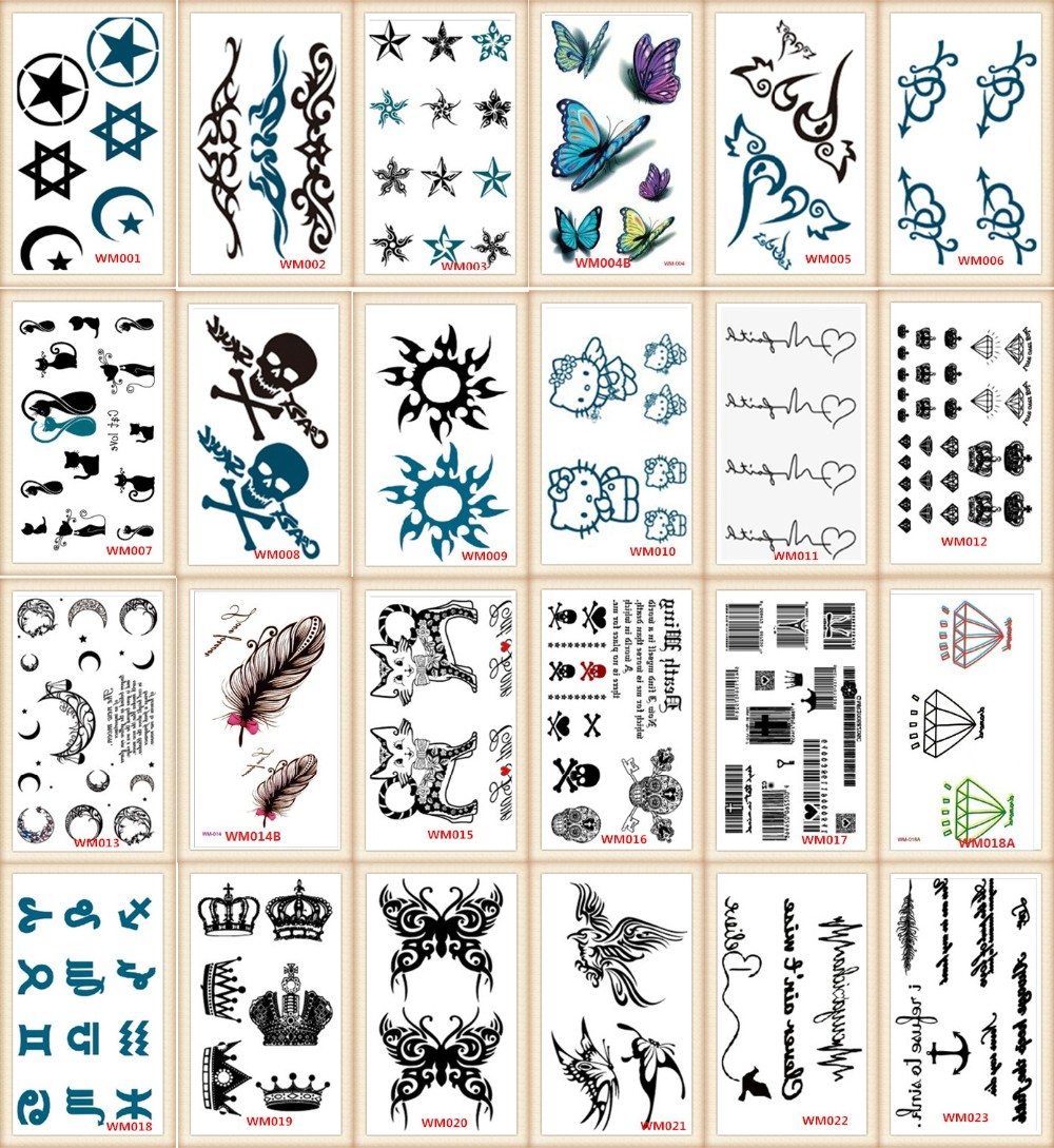 2017 style Party DIY Decorations tattoo tatoo for wedding decoration mariage bride to be party supplies SYA026
