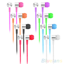 Buy 3.5mm In-Ear Earbuds Mic Stereo Earphone Headset Headphone Mobile Phone MP3 for $1.48 in AliExpress store
