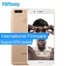 International Firmware Huawei Honor V9 6GB RAM 64GB ROM Kirin 960 Octa Core Mobile Phone 2K Screen 5.7inch Dual SIM Android 7.0
