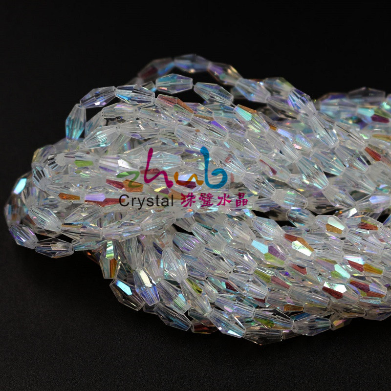 Long-Bicone-Shape-Glass-Beads-3-6MM-100PCS-LOT-For-Decoration-Crystal-White-ABColor-Glass-Bead(2)