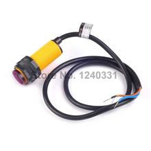 E18-D80NK Infrared Obstacle Avoidance Photoelectric Sensor Proximity Switch 3-80cm Detection Range Adjustable for Smart Car(China)