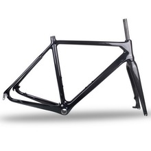 700C Disc brake cyclocross carbon frame cx carbon bike frame bicycle carbon frame