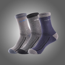 2 Pairs/Lot New Brand Winter Outdoor Thick Terry Sole Socks Men Sport Socks Breathable Basketball Running Hiking Climbing Socks