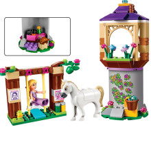 Bela Tangled Princess Rapunzel's Best Day Ever Building Blocks Bricks Toy Gift For Children Princess 41065