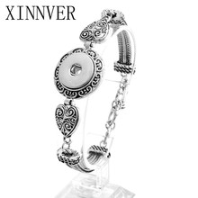 Buy Xinnver Snap Bracelet Vintage Adjustable Bracelet Fit 18mm Snap Button Bracelet Men Women Jewelry for $2.09 in AliExpress store