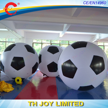10 days free shipping!(10pcs a lot) giant 2m inflatable soccer ball/balloon,giant inflatable helium balloon/ advertising ball(China)