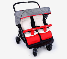 luxury baby stroller for twins,360 baby stroller,landscape baby trolley	,twins stroller,baby strollers double