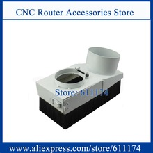 Dust brush Dust collector Cover 80mm wood cnc spindle motor dust collector device D80mm(China)