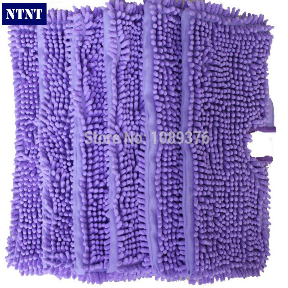 NTNT Free Post New 6 QTY Washable Microfibre Steam Mop Cloth For Shark Pad S3501 S3550 S3601<br>