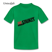 Fashion Toddler T-shirt The Strokes Rock Band Baby Clothing Boys&Girls Short Sleeve 100% Cotton t Shirts Printed Children Cloth
