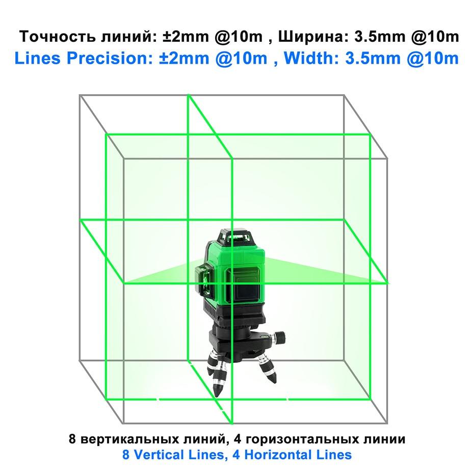 Kaitian Laser Level MG3D3 light 2