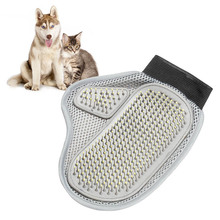 1 PC New Comfortable Pet Animal Grooming Glove Dog & Cat Comb Brush for Medium to Long Hair VDY16 P30(China)