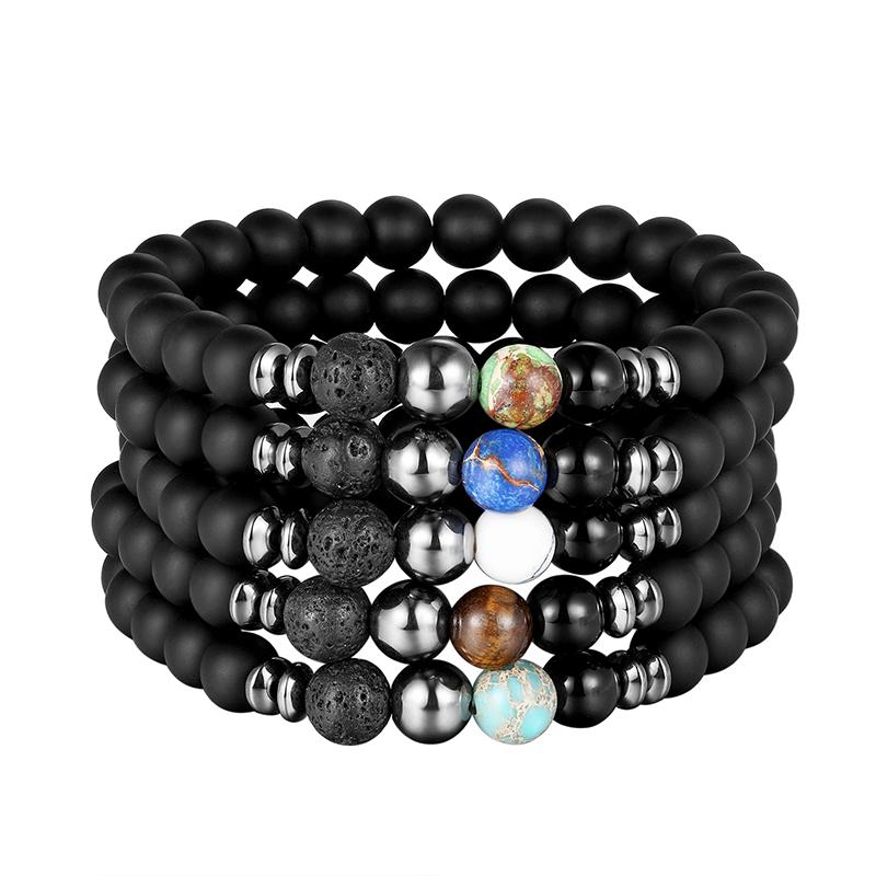Bracelet en pierre naturelle très tendance