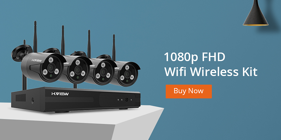 975 44200WIFI 1080p Wifi Wireless CCTV Kits