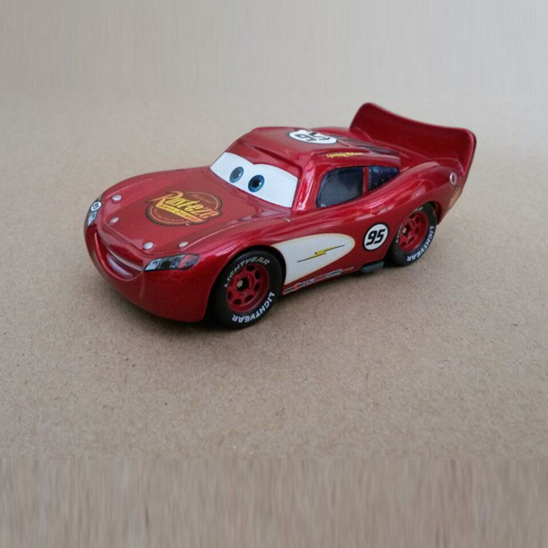 Disney Pixar Cars No.95 Speed Lightning Mcqueen Diecast Metal Toy Car For Children Gift 1:55 Loose New In Stock(China)