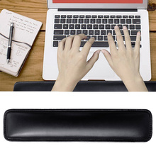 PU Leather Memory Foam Keyboard Wrist Support Rest Platform Cushion Pad for Computer Laptop Notebook 87-key Keyboard