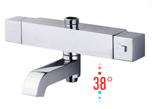 Free shipping Concealed thermostatic bath shower taps,bath shower thermostatic mixer,solar mixing valve AF052
