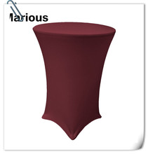 Big Discount 80cm Lycra Stretch 20pcs Cocktail Dry Bar Spandex Table Cover Wedding Event Diameter FREE SHIPPING Marious(China)