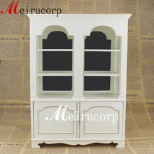 BJD 1/6 SCALE dollhouse MINIATURE furniture handmade well made white cabinet