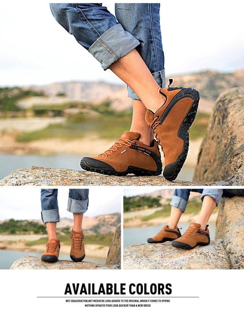 XIANG GUAN Winter Shoe Mens Sport Running Shoes Warm Outdoor Women Sneakers High Quality Zapatillas Waterproof Shoe81285 11