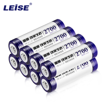 Leise 8pcs 2a AA Battery Batteries 1.2V aa 2700mAh Ni-MH Rechargeable Battery (8-Pack) Pre-Charged nimh Baterias for Camer Razor