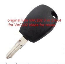 free shipping new repair tool lishi VAC102 3 in 1 tool accessories for renault key