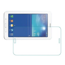 "9H Tempered Glass Screen Protector Film for Samsung Galaxy Tab 3 Lite T110 T111 T116 7"" + Alcohol Cloth + Dust Absorber"