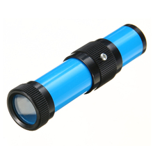 1pc Blue 100mm Length Handheld Spectroscope Light Emission Spectroscopy Spectrum Physics Science(China)