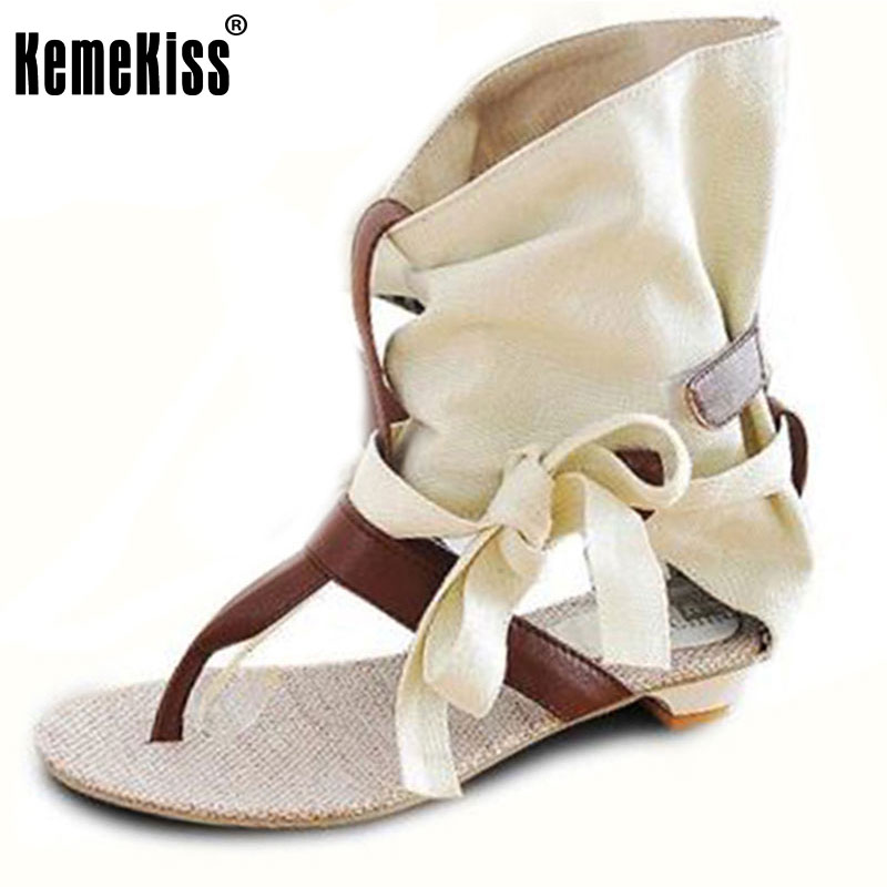Big Size 34-43 Fashion Women Gladiator T straps Flat Heel Sandals Summer Shoes Brand New Casual Dress Chic Sandals S236<br><br>Aliexpress