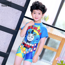 sunny eva one-piece swimsuit swimwear boys swimming suit 2017 News to sell Bathing suit kids boys bikini kids swimwear character(China)