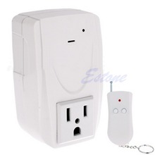 1 PC US Plug Digital Wireless Remote Control Power System Outlet Socket Switch 110V