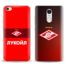 FC Spartak Moscow logo Coque Phone Case Cover Shell For Xiaomi Redmi Note 2 3 4 4X 5A Pro Mi 4 5 5S Plus 5X 6 MiA1 Minote 2 3(China)