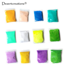 Multicolor Handmade DIY Soft Polymer Foam Modelling Clay Snow Pearl Mud Playdough Educational Plasticine Toys 1 PC Color Random!(China)