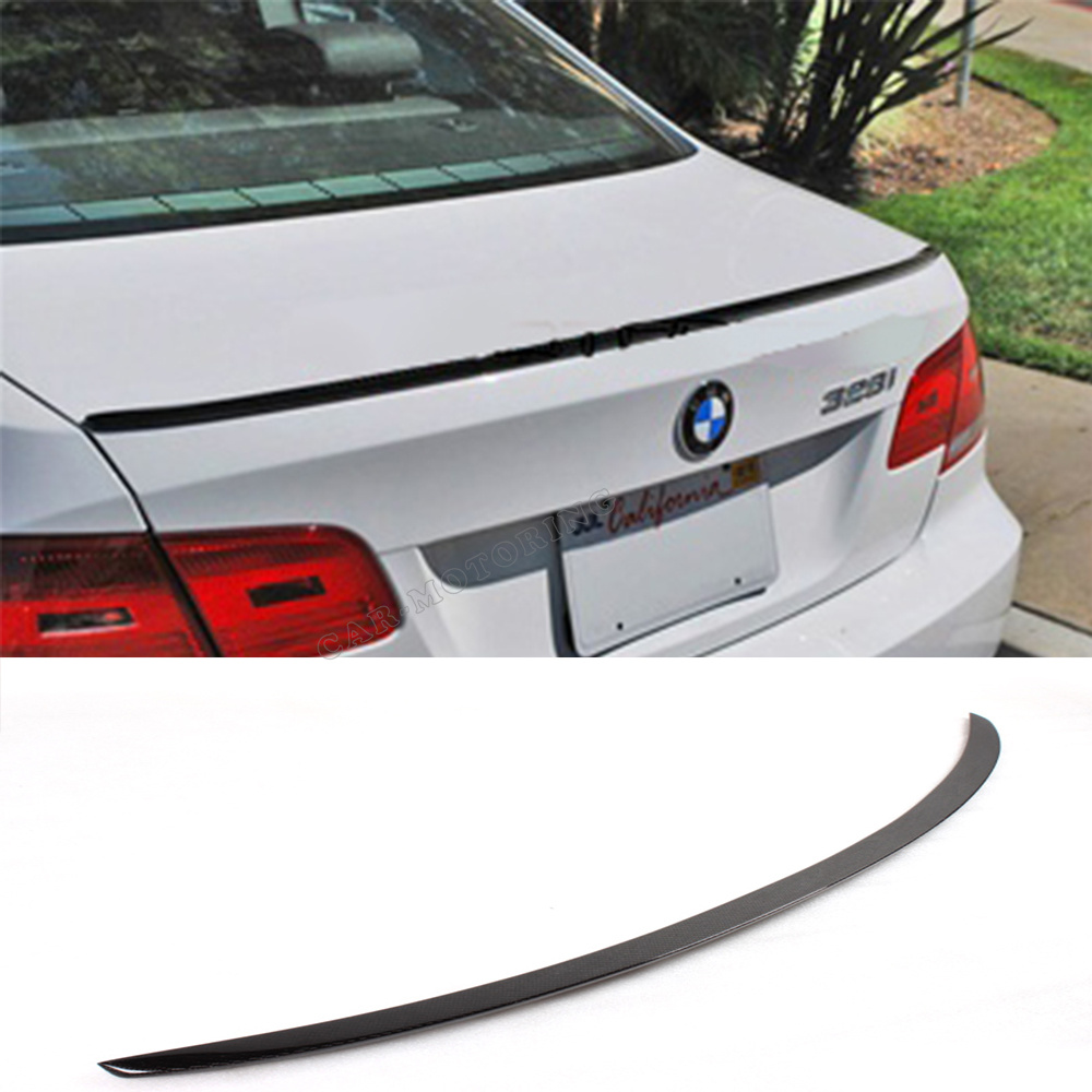E92 3 SERIES COUPE M3 STYLE CARBON FIBER REAR WING For BMW E92 328 335 Coupe 2008-2011<br><br>Aliexpress