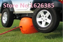 3TON Exhaust Air lifting Jack City SUV, Large and medium-sized Sedan inflatable wheel support jack auto repairing tool