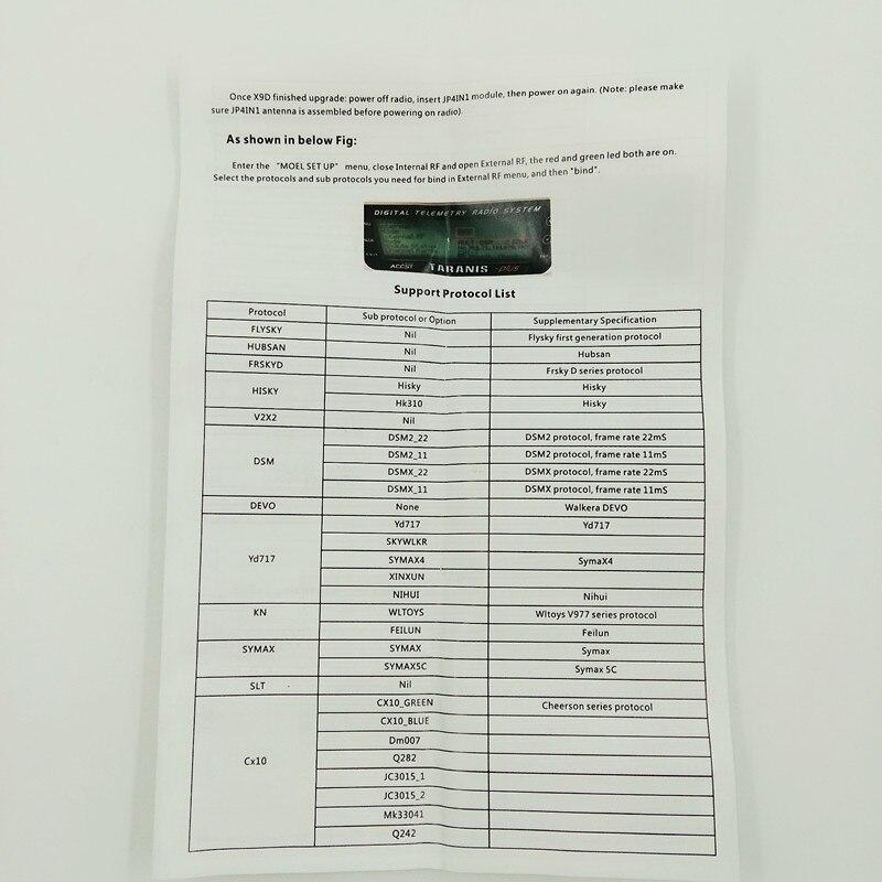 FrSky XJT 2 4G S Port JR/Graupner Type 16ch Duplex Telemetry Module 2 4ghz  upgrade Jr |