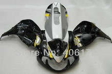 Hot Sales,custom fairings TL1000R Kit For Suzuki TL1000R 1998-2003 Black & Silver Motorcycle Fairings (Injection molding)(China)